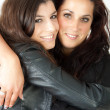 Two women hugging — Stock Photo #3357041