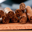 Stock Photo: Few cigars