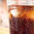 Glass cola — Stock Photo #3474106