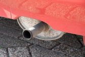 Exhaust system — Stockfoto