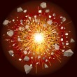 Explosion - Imagens vectoriais em stock