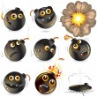 Royalty-Free Stock Vector Image: Bomb