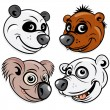 Bears — Vector de stock