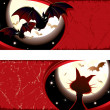 Royalty-Free Stock Imagen vectorial: Halloween theme