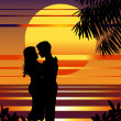 Royalty-Free Stock Imagen vectorial: In love.