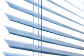 Neat window blinds. — Stock Photo