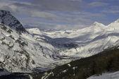 Alpské údolí — Stock fotografie