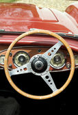 Vintage Steering Wheel — Stock Photo