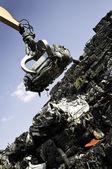 Car scrap yard — Stock Photo