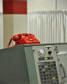 Retro emergency phone — Stock Photo