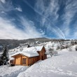Chalet en hiver — Stock Photo