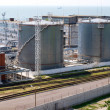 Photo: Fuel oil terminal tanks