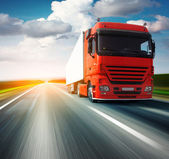 грузовик — Стоковое фото