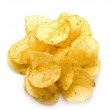 Постер, плакат: Crisp fried chips with seasoning