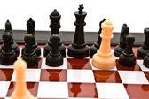 Satranç kombinasyonu — Stok fotoğraf