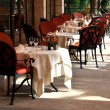 Restaurant terrace — Stock Photo #3188371