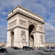 Arc de triomphe in Paris — Stock Photo #3188402