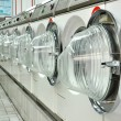 Stock Photo: Laundromat