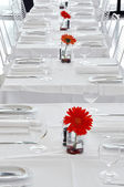 A white restaurant — Stock Photo