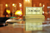 Concierge desk — Stock Photo