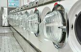Una lavanderia a gettoni — Foto Stock