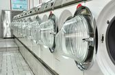 A laundromat — Stock Photo
