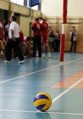 Volley_1 — Stock Photo
