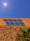 Panneaux solaires_1 — Stock Photo