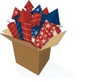American firework — Stock Vector