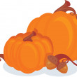 Royalty-Free Stock Imagen vectorial: Pumpkins