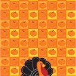 Stock Vector: Thanksgiving background
