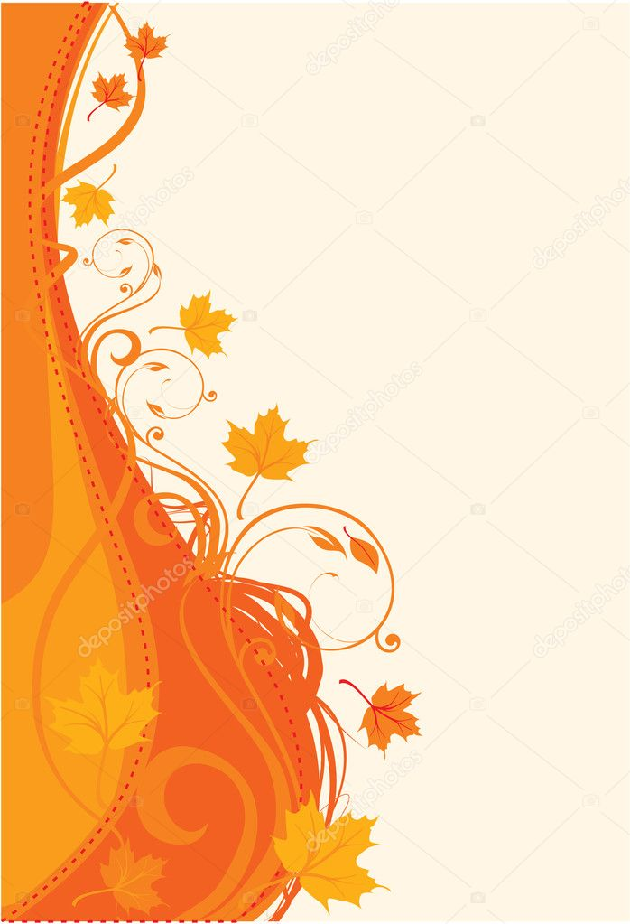 Thanksgiving background  Stock Vector #3452926