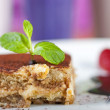 Tiramisu a la carte dessert — Stock Photo