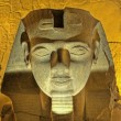 Ramses II head at Luxor Temple — Stock Photo #3196810