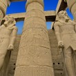 Statue of Ramses II at Luxor Temple — Stock Photo