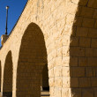 Arches of a small viaduct — Foto Stock