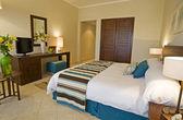 Luxe hotelkamer — Stockfoto