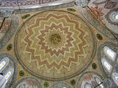 Roof design in a mosque — 图库照片