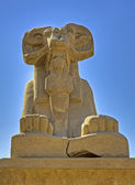 Ram sphinxes at Karnak Temple — Foto de Stock