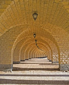 Corridor of arches — Stock Photo