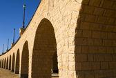 Arches of a small viaduct — Zdjęcie stockowe