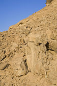 Rock formation in the desert — Stock Photo