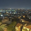 Cityscape view at night — Stock Photo