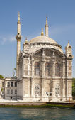 Mosque by a river — Stock Photo