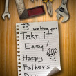 Father day - Stockfoto