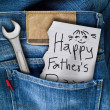 Stock Photo: Father day