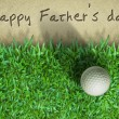 Father day Golf — Foto de stock #3778245