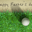 图库照片: Father day Golf