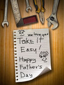 Father day — Stockfoto