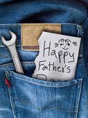 Dzień ojca — Zdjęcie stockowe